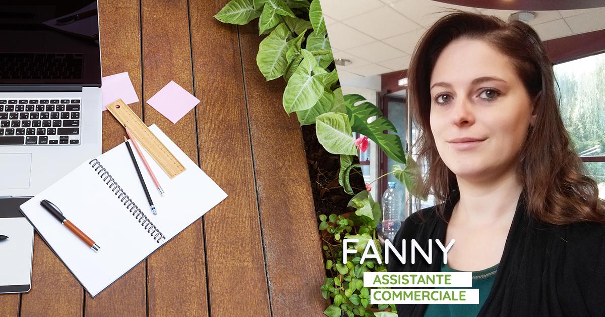 Fanny – Assistante commerciale – Le Portrait du mois de septembre