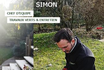 Simon – chef d'équipe – Le Portrait du mois de Novembre