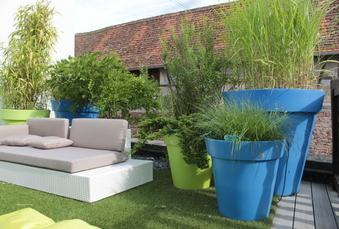 Aménager ses espaces extérieurs avec des plantes en pot