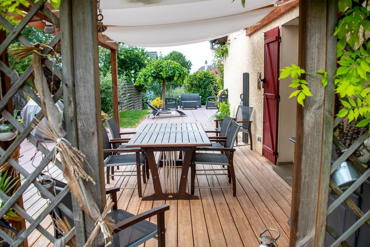 Les terrasses, espaces de bien-être