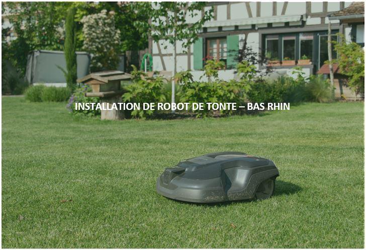 INSTALLATION DE ROBOT TONTE – BAS RHIN