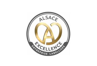 Notre entreprise a l'Alsace à cœur,  elle fait partie des 91 entreprises labellisées ALSACE EXCELLENCE !
